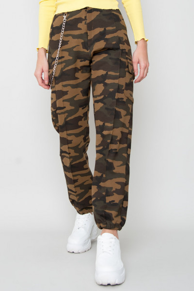 Cargo Joggers - Needed Camo