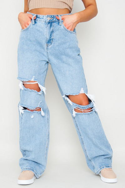 Clear Ur Mind Flared Jeans