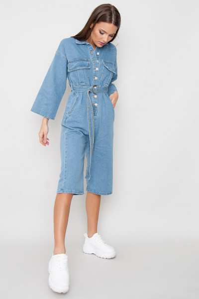 Denim Playsuit - Kat