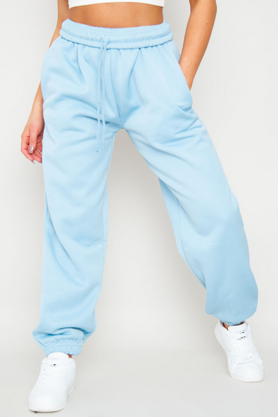 Bend The Rules Blue Oversized Joggers