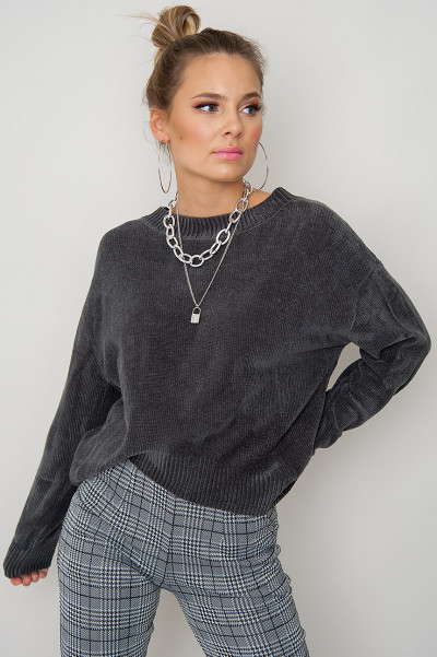 Cosy Sweater - Grey Geri