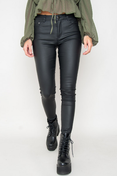 Faux Leather Pants - Reese