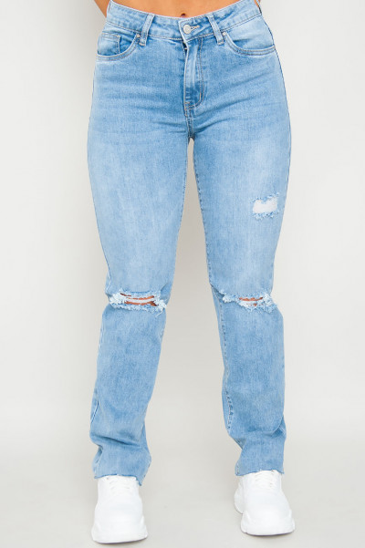Running Away Ripped Jeans