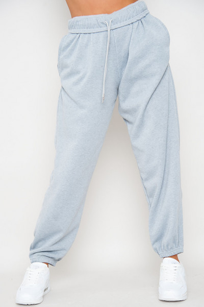 Bend The Rules Grey Oversized Joggers