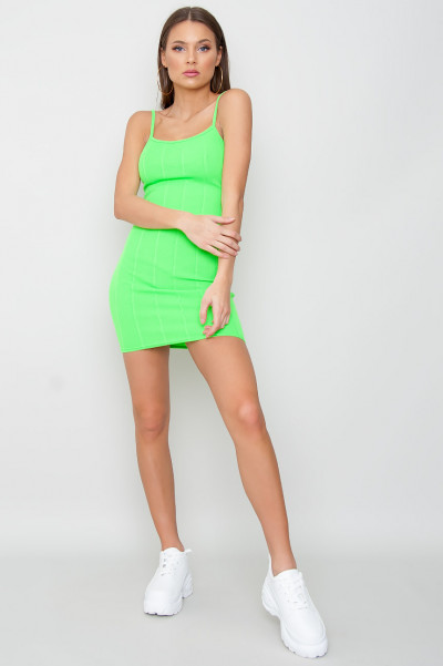 Bandage Dress - Buffy Green