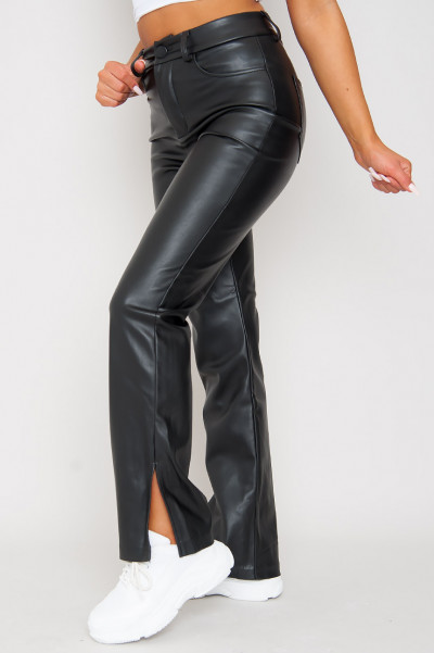 One Touch Faux Leather Pants