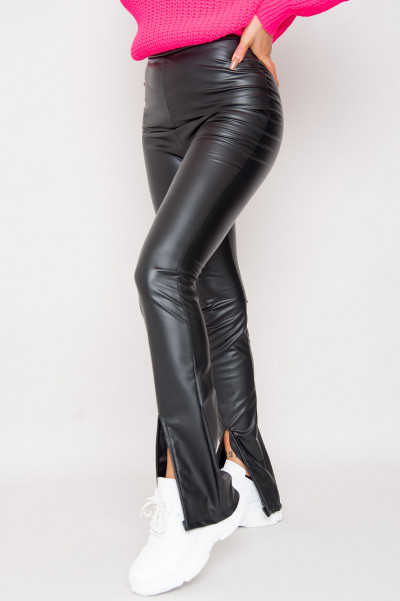 Take It All Faux Leather Pants