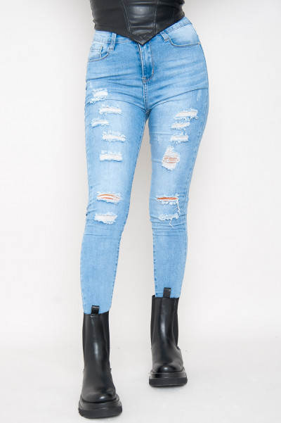 In A Higher Place Ripped Jeans