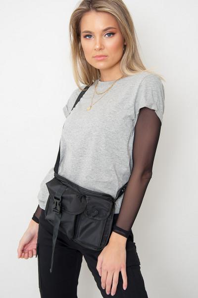 Basic Grey T-Shirt - Elenor