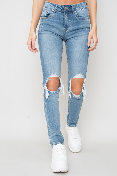 High Waisted Jeans - Aella