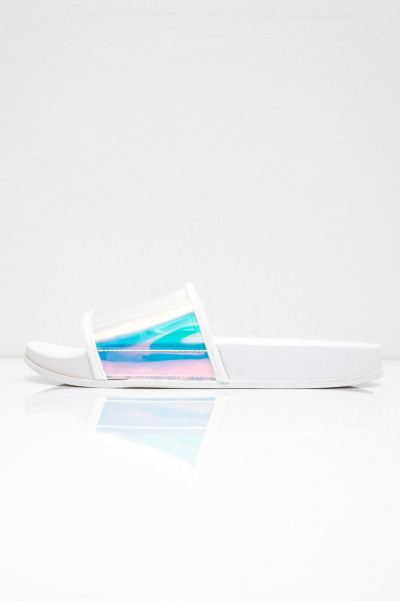 Beach Slippers - Wand White