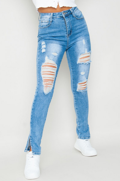 It's Time Ripped Skinny Jeans