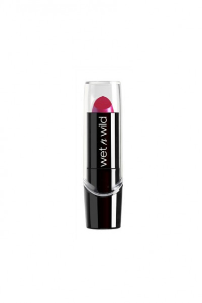 Wet n Wild Silk Finish Lipstick - Fuschia w Blue Pearl