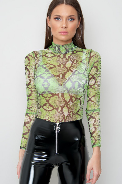 Neon Green Bodysuit - Repty