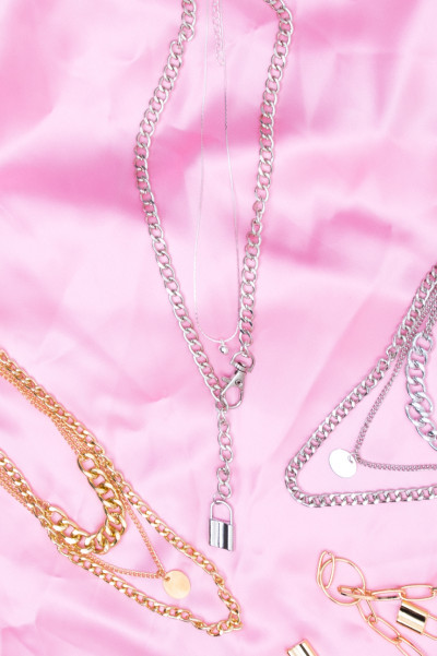 Chain Necklace - Dont Lock Silver