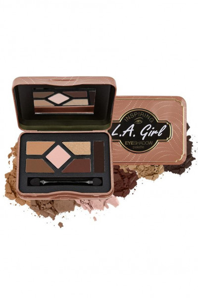 L.A. Girl Inspiring Eyeshadow Palette - Naturally Beautiful