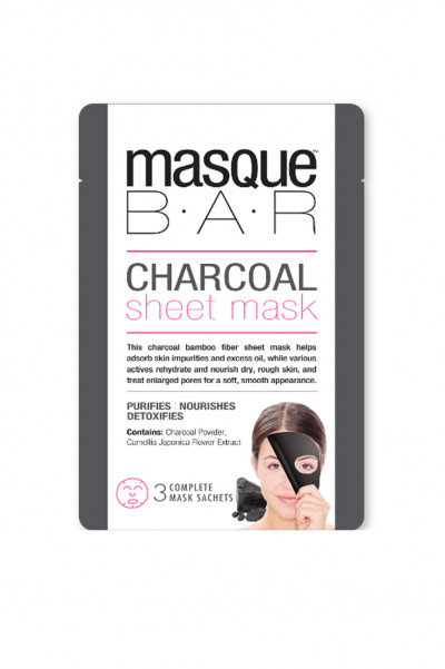 masque B.A.R - Charcoal Sheet Mask 3 st