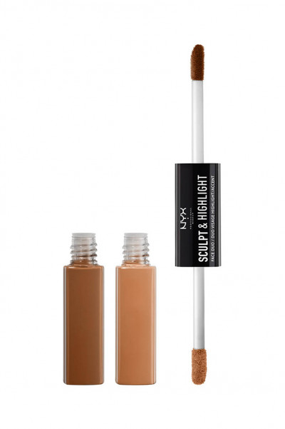 NYX PROFESSIONAL MAKEUP Sculpt And Highlight Face Duo - Chestnut