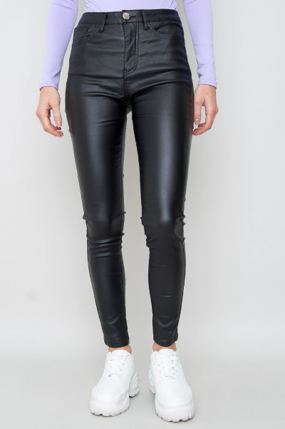 High Waisted Slim Trousers - Echo