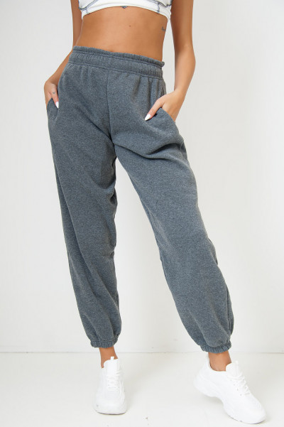 Bend The Rules Charcoal Oversized Joggers