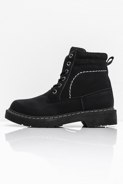 Padded Boots - Intensions Black