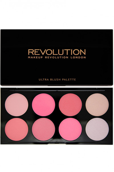 Makeup Revolution Ultra Blush Palette - All About Pink