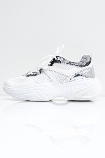Totally Bad White Sneakers