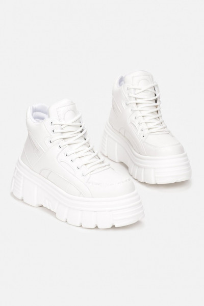 Damnation Chunky Sneakers White