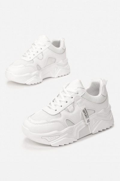 Cheeky Chunky Sneakers White