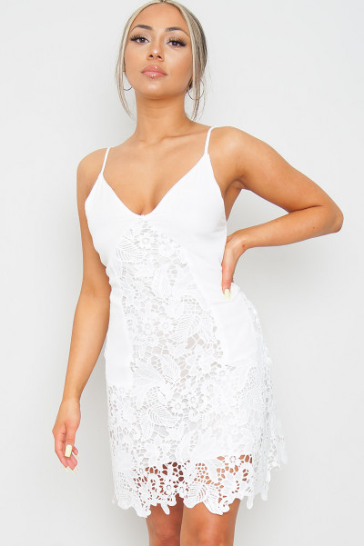 Lovers Do White Lace Dress