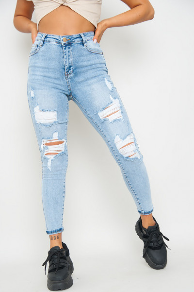 One Step Further Ripped Jeans