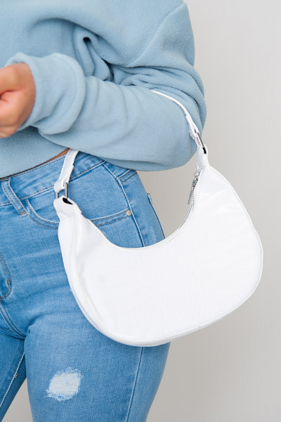 Im Fash Chain Bag White