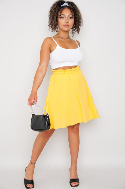 Fly Away Yellow Skirt