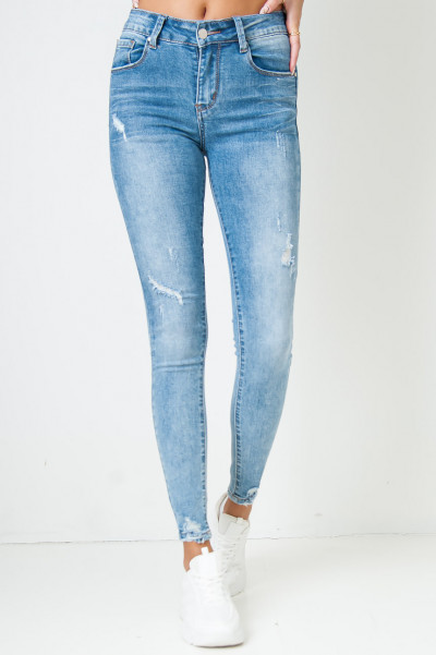 Crossing Paths High Waisted Jeans